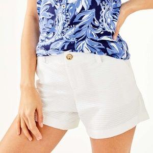 LILLY PULITZER Callahan White Shorts - Size 2
